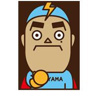 公式キャラクター『さくちゃんマン』
